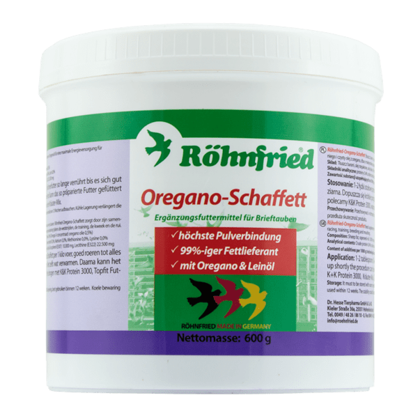 Oregano-Schaffett - овча мазнина 600 грама