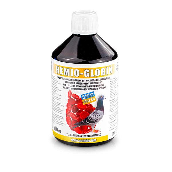 HEMIO-GLOBIN С активно желязо за гълъби 500мл