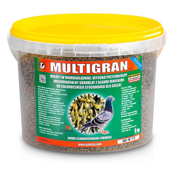 MULTIGRAN - минерали с морски водорасли 3 кг