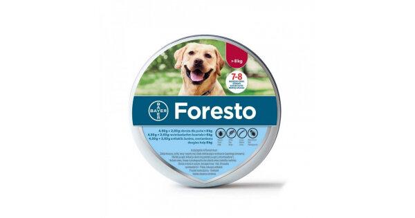 Bayer Foresto L - противопаразитна каишка 70 см
