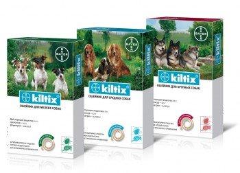 Kiltix Bayer - противопаразитна каишка