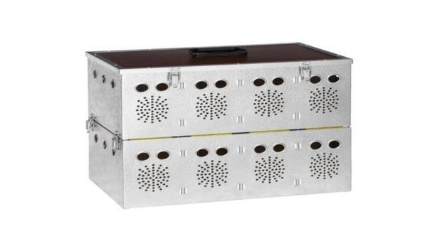 Алуминиева транспортна кутия за 10 гълъба