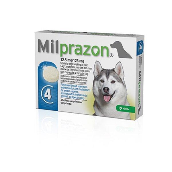 Milprazon 12.5 mg/125 mg. - 1 таблетка