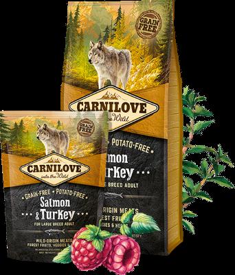 CARNILOVE Salmon & Turkey (Large Breed Adult)