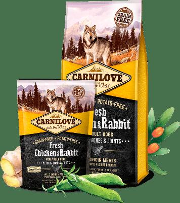 Carnilove Fresh Chicken & Rabbit