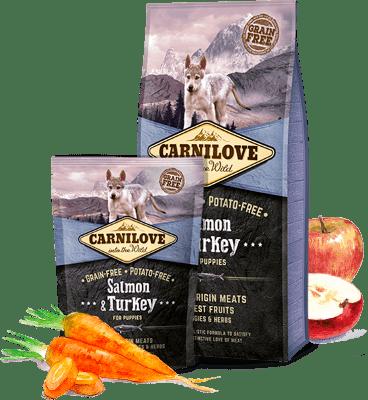 CARNILOVE Salmon & Turkey (Puppy)