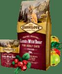 CARNILOVE Sterilised Храна за котки с агнешко и глиган, без зърнени култури