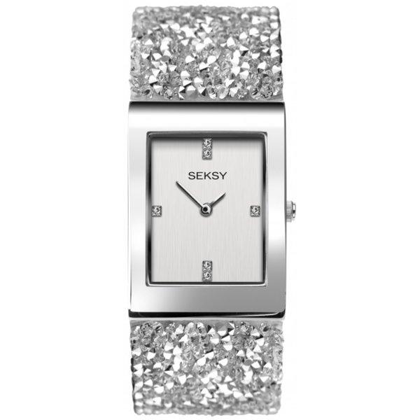 Дамски часовник Seksy Rocks Swarovski Crystals