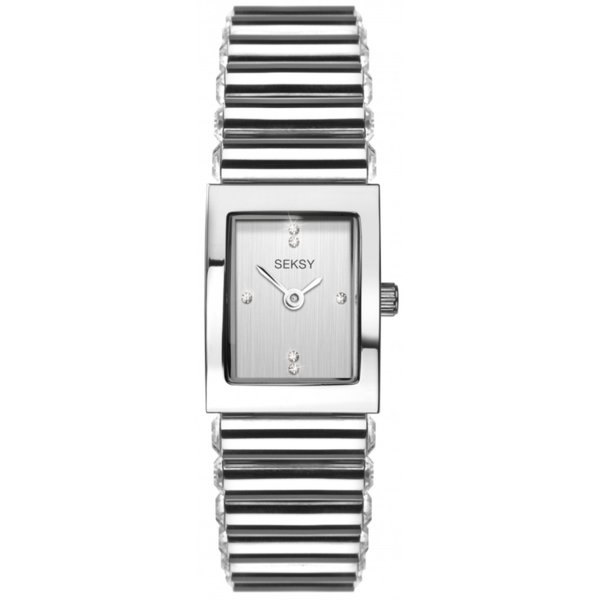 Дамски часовник Seksy Edge Swarovski Crystals