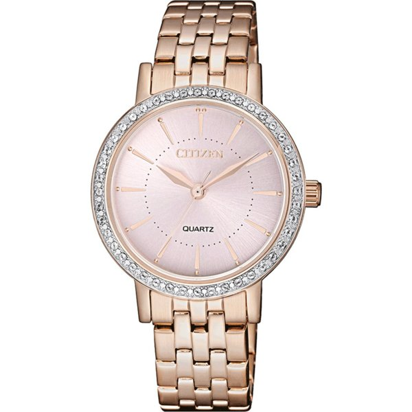 Дамски часовник Citizen Quartz Swarovski