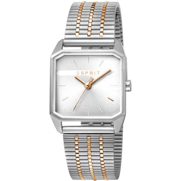 Дамски часовник ESPRIT ES Cube Ladies Silver