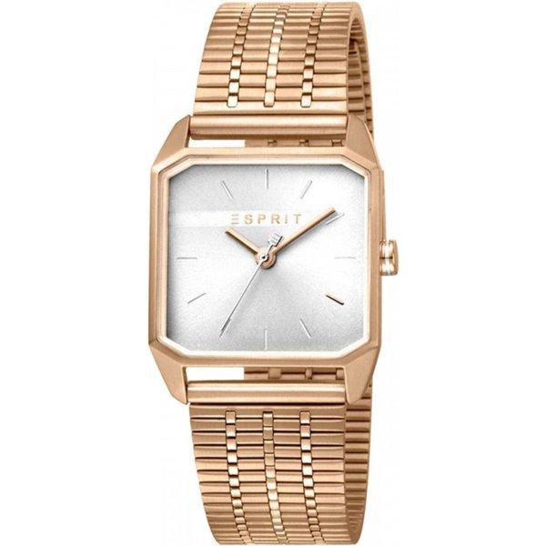 Дамски часовник ESPRIT Cube Ladies Silver Rosegold