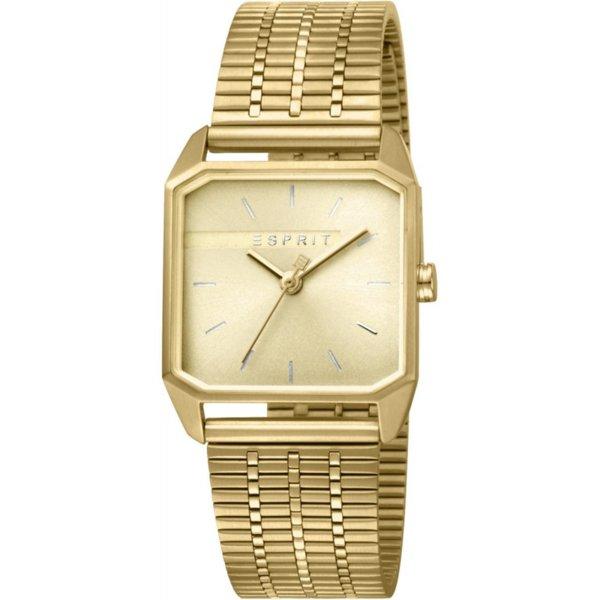 Дамски часовник ESPRIT Cube Ladies Gold