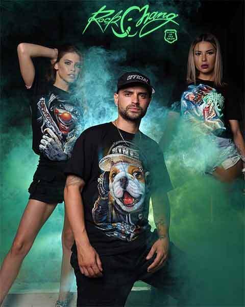 4D светещи тениски