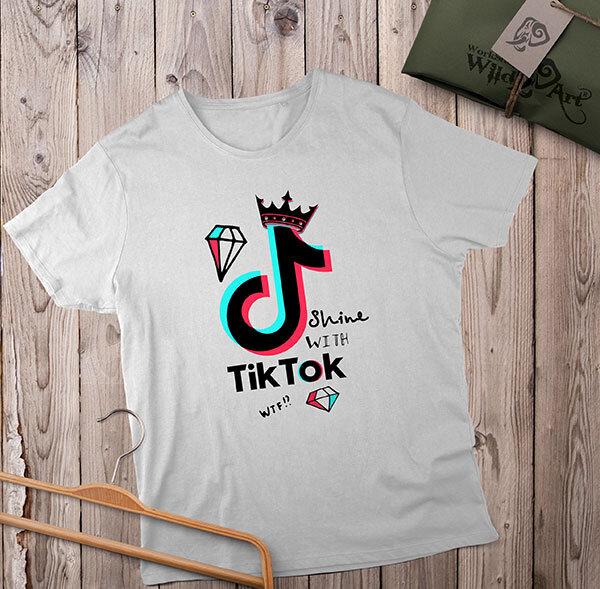 Tik Tok - къс и дълъг ръкав