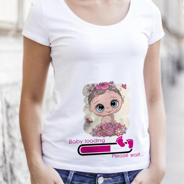 Тениски с дизайни за бременни