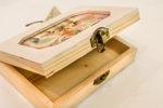 """Уникална ръчно изработена кутия за спомени """"Обичам те"""""""