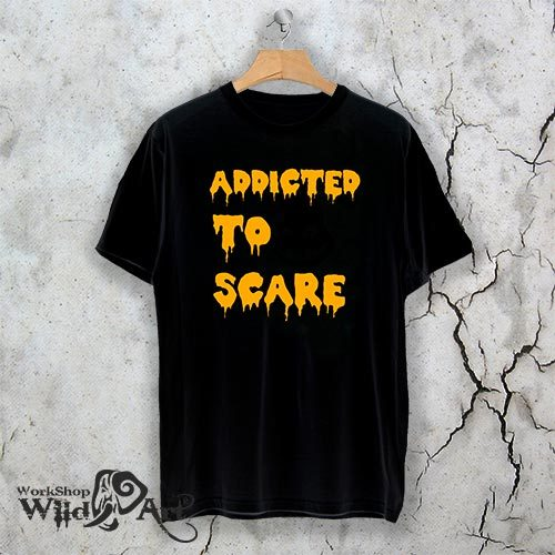 Тениска за Хелоун Addicted to scare W 1160