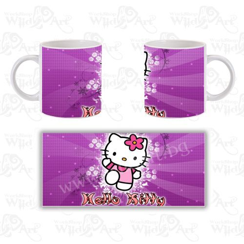 Чаша Hello Kitty