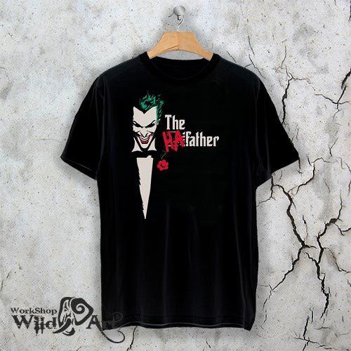 Тениска за Хелоуин The Ha father W 1144