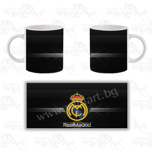 Чаша Real Madrid Black
