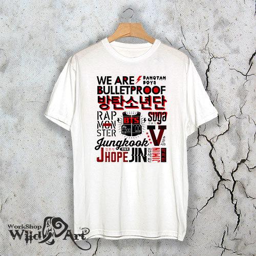 Тениска – BTS A006