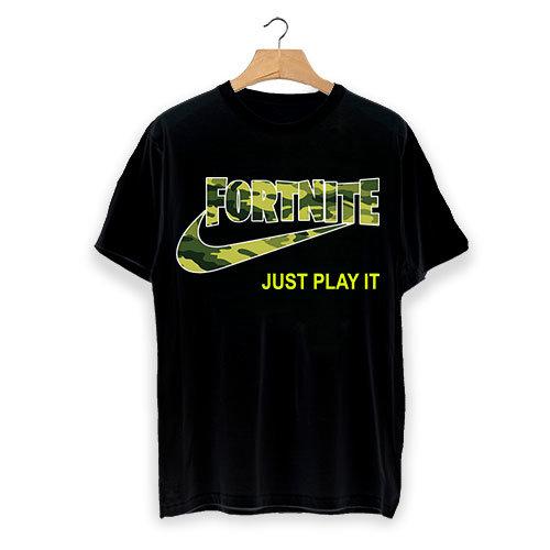"""Тениска Fortnite """"Just play it"""""""
