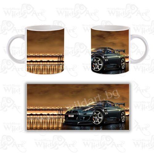 Чаша Nissan GT-R