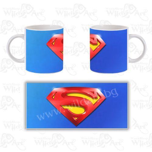 Чаша Man of Steel (Superman)