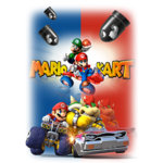 Тениска – Mario Kart F50