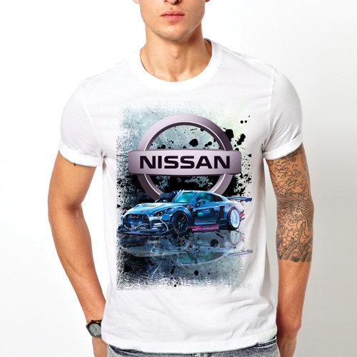 "Тениска – ""Nissan"""