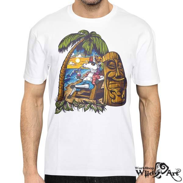 Лятна тениска с щампа Unicorn
