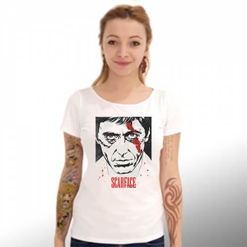 """Тениска – """"Scarface""""/""""Белязаният"""" К 4002"""