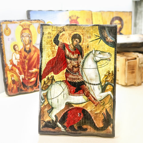 Икона Свети Bеликомъченик Георги Победоносец