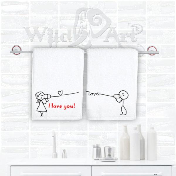 Хавлии за баня със забавна картинка