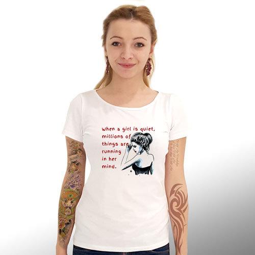 """Тениска – """"Мисли"""" К 4025"""