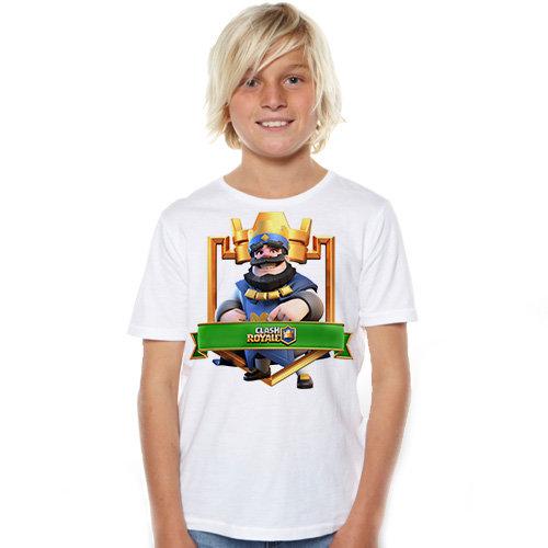 Тениска – Clash Royale F67