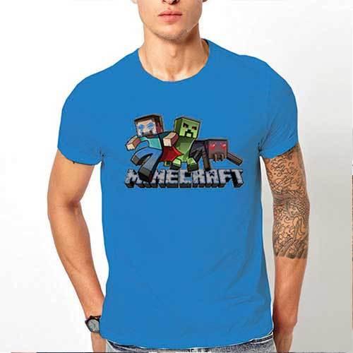"Тениска – ""Minecraft / Майнкрафт"" К 2055"
