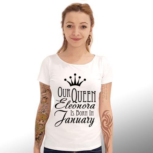 Тениска със зодия модел Q4