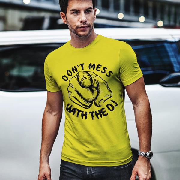 Тениска Don't mess with the DJ N 1134