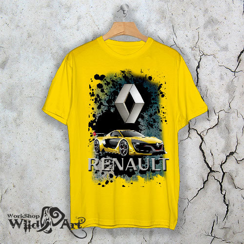 "Тениска – ""Renault"""