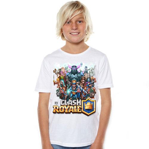 Тениска – Clash Royale F75