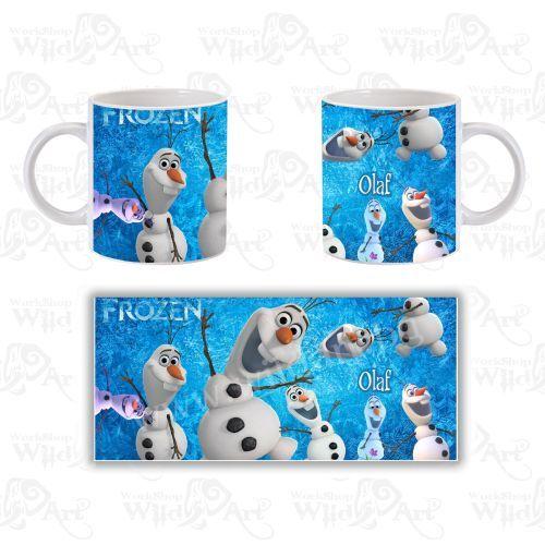 Чаша The Frozen Kingdom Olaf