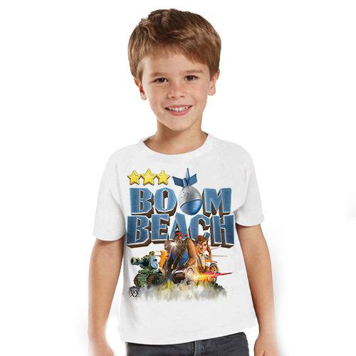 Тениска – Boom Beach F60
