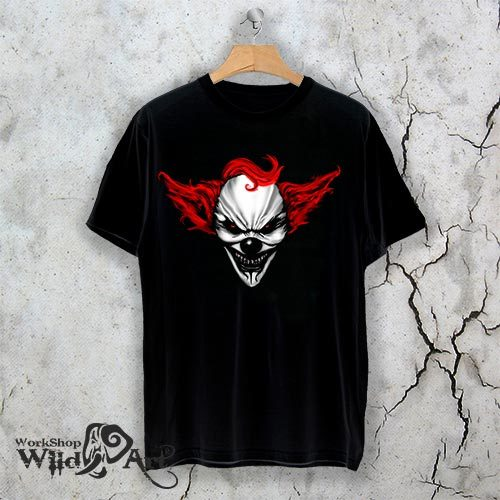 Тениска за Хелоуин The Clown W 1145