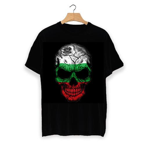 Тениска България skull