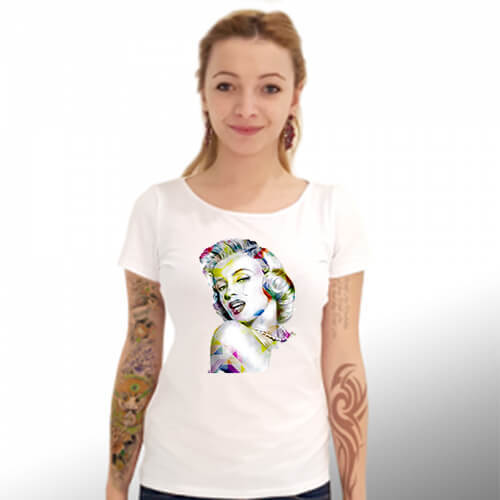 "Тениска – ""Marilyn Monroe / Мерилин Монро"" К 4028"