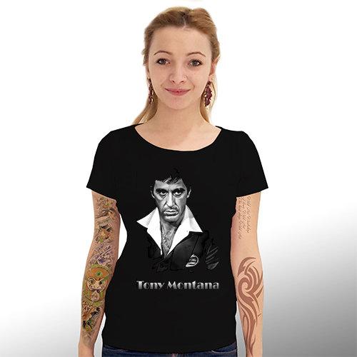 """Тениска – """"Тони Монтана"""" к 4001"""