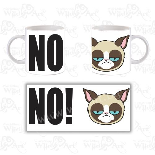 Чаша Grumpy Cat