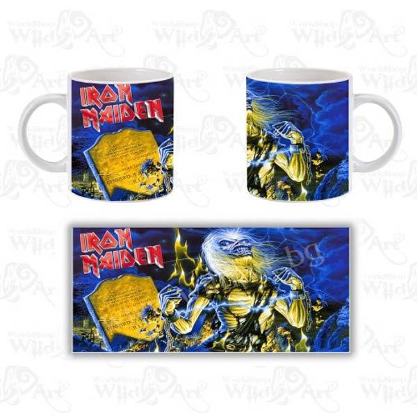 Чаша Iron Maiden